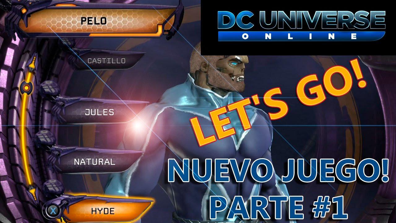 Dc Universe Online Ps4 Probando El Juego Gratis Gameplay Espanol