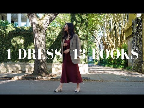 How To Wear 1 Dress 13 Ways | Styling Tips & Outfit Ideas - YouTube