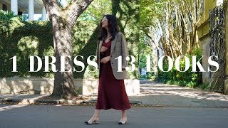 How To Wear 1 Dress 13 Ways | Styling Tips & Outfit Ideas