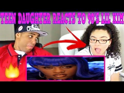 Teen Daughter Reacts To Dad's 90's Hip Hop Rap Music | LIL KIM
