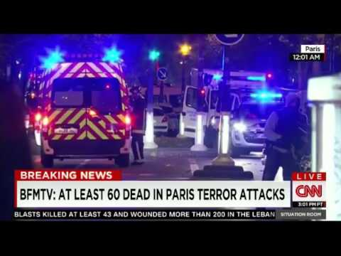 Paris France attack latest breaking news feed