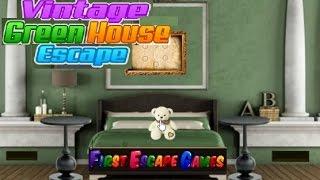 Game | Vintage Green House Escape walkthrough First Escape Games.. | Vintage Green House Escape walkthrough First Escape Games..