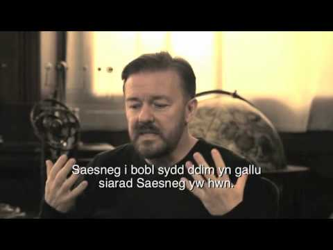 Argraffiad Cymraeg | Learn English with Ricky Gervais