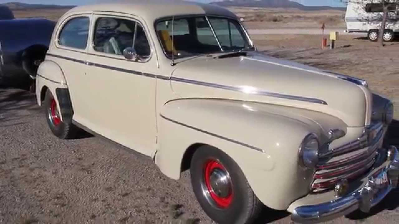 medium resolution of 1946 ford tudor sedan pulling a teardrop trailer in seligman 1946 ford coupe custom graphics wiring harness for 1946 ford coupe sedan
