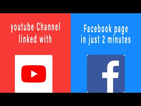 Link YouTube Channel to Facebook Page automatically post youtube videos to facebook page |2020