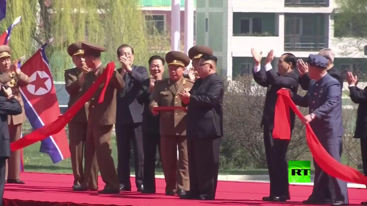 كيم جونغ أون يفتح حي ناطحات السحاب في بيونغ يانغ