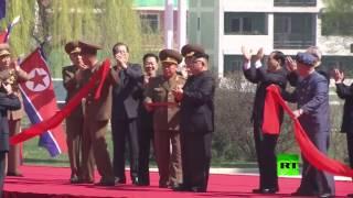 الزعيم الكوري كيم يفتتح حيا ضخما من ناطحات السحاب!