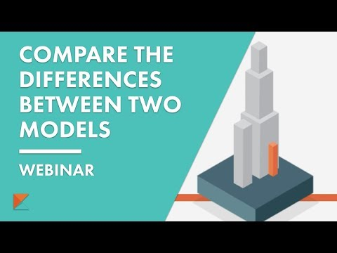 How to compare the differences between two BIM models?