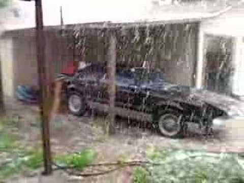 San Antonio Hail Storm - YouTube