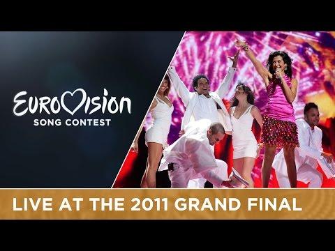Lucia Pérez - Que Me Quiten Lo Bailao (Spain) Live 2011 Eurovision Song Contest