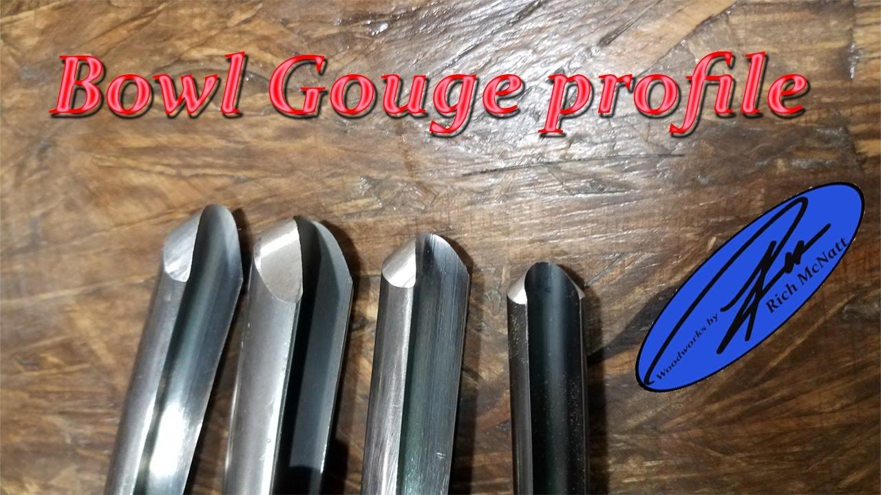 Bowl gouge profile
