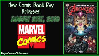 New Comic Book Day Releases | August 21st