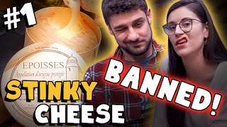 Epoisses - Banned Stinky Cheese! (O&J Cheese Show - #1)