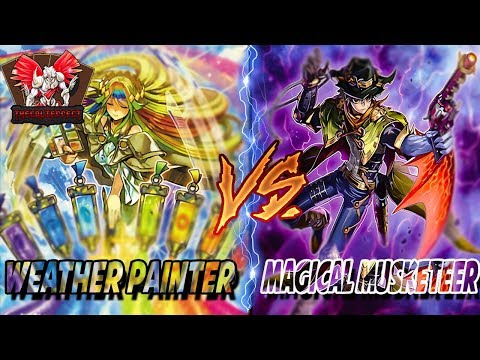YUGIOH! LIVE DUEL: WEATHER PAINTER VS MAGICAL MUSKETEER (SPI