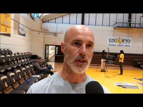 Wyoming Volleyball Coach Chad Callihan Talks Cowgirls Improvement