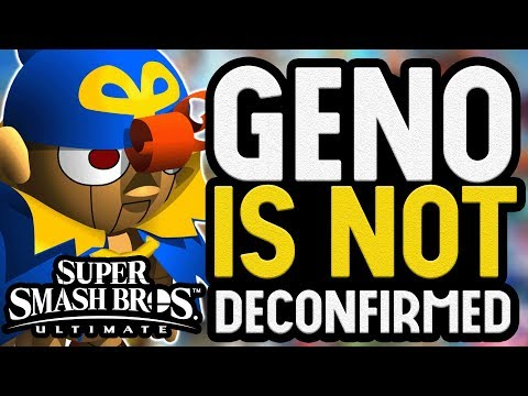 MORE Reasons Geno Is NOT Deconfirmed For Super Smash Bros. Ultimate