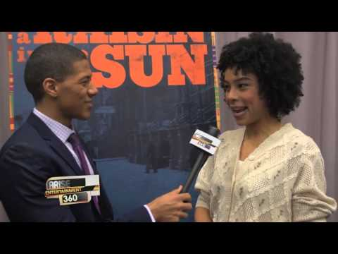 THE CAST OF BROADWAY'S 'A RAISING IN THE SUN'