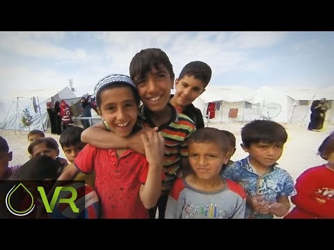 Children at the Urfa Syrian Refugee Camp | MAA | VR 360