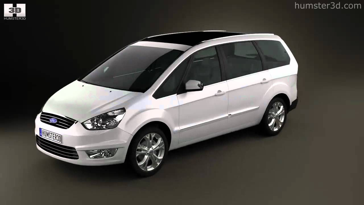 Ford Galaxy Mk3 2012 By 3D Model Store Humster3D