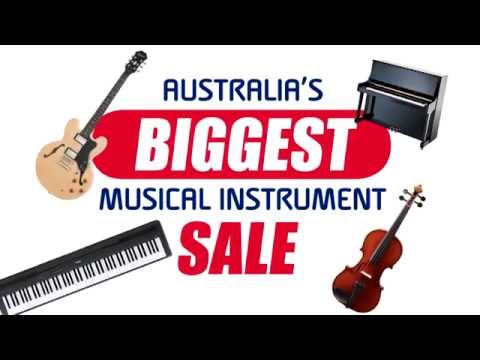 Australia's Biggest Musical Instrument Sale - New South Wales