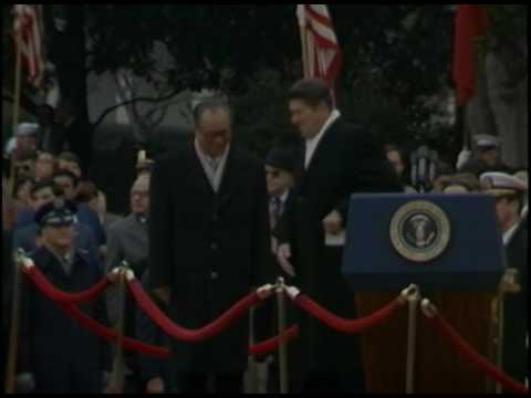 President Reagan's Remarks at the Ceremony for Premier Zhao Ziyang of China on January 10, 1984