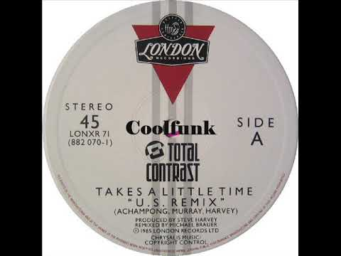 """Total Contrast - Takes A Little Time (12"""" US Remix 1985)"""