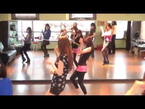 初心者にやさしい♡めぐちゃん先生 AOA / Oh boy K-POPダンスレッスン @南行徳スタジオ k-pop dance video step movie