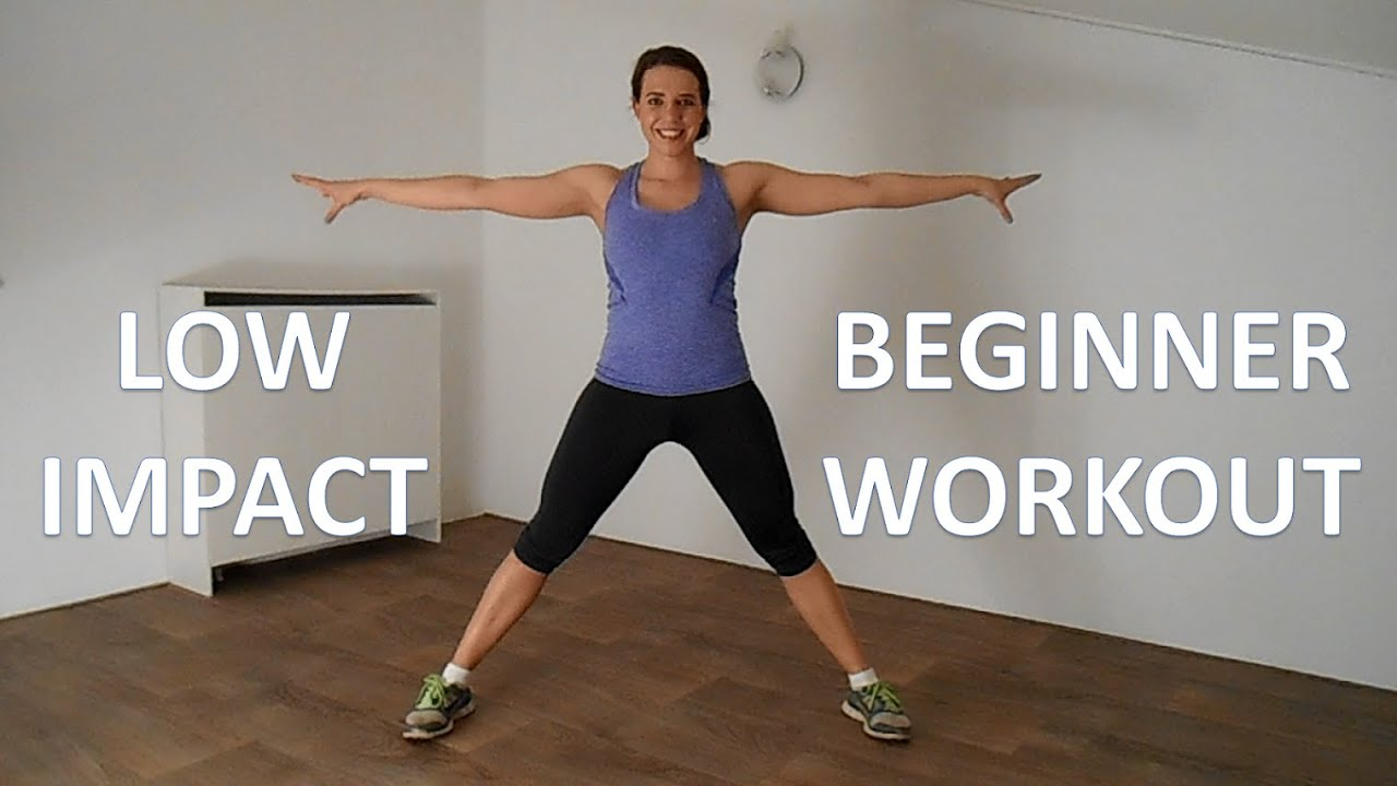 20 Minute Low Impact Workout Routine For Beginners Fat