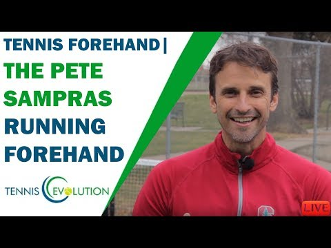The Pete Sampras Running Forehand | TENNIS FOREHAND