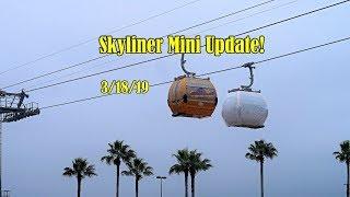 Disney's Skyliner Mini Update 3/18/19