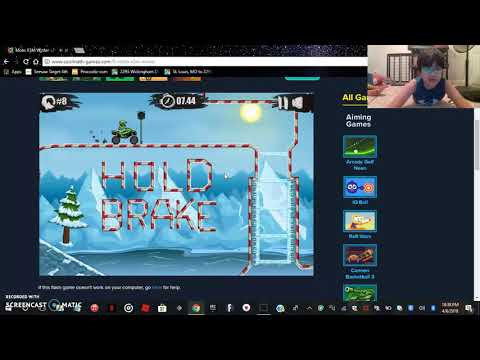 Cool Math Games Moto X3m Winter Levels 1-16