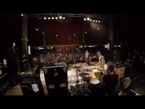 The Bronx - Reading Festival Lock Up Stage 2015 (full set) shot on a Gopro