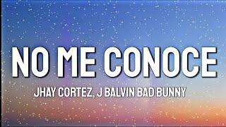 Jhay Cortez, J. Balvin, Bad Bunny - No Me Conoce [Remix]
