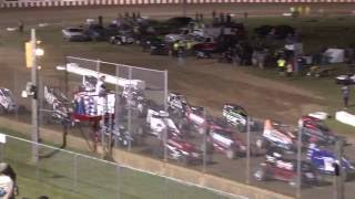 Angell Park Speedway POWRi Midget Highlights