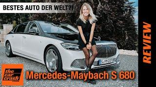 Mercedes Maybach S-Klasse (2021) Das BESTE Auto der Welt?! 🤩 Fahrbericht | Review | V12 | S 680