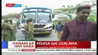 Polisi Garissa waimarisha usalama, ukaguzi wa silaha waendelea