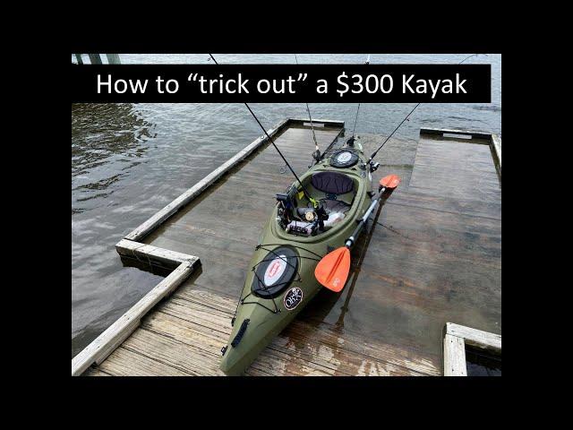 Future Beach 126 Fishing Kayak - Installed Accessories