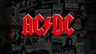 AC DC - Back in black - backingtrack with vocals