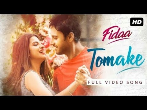 Tomake (তোমাকে) || Fidaa || Full Video Song || Yash || Nikhita || Pathikrit || Indian song's office