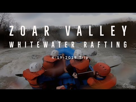 Zoar Valley Gorge Whitewater Rafting 4-19-2019