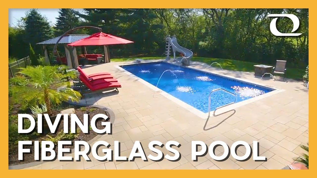 Thursday Pools | Monolith (Maya) Fiberglass Pool Design