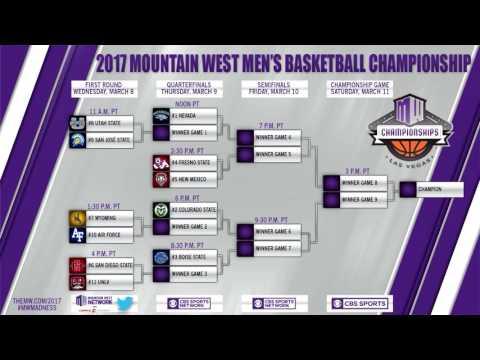 MW Men's Basketball Tournament Bracket Revealed (3/4/17)
