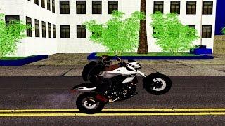 Mod Ser Procurado pela Policia ao Dar Grau de Moto (GTA Sa)