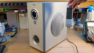 Watson Digital Home Theatre System subwoofer/amplifier teardown
