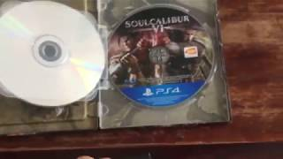 Unboxing Test - Soulcalibur VI: Deluxe Edition (Witcher game in disguise)
