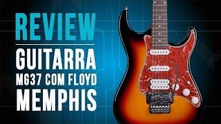 review guitarra mg37 com floyd memphis by tagima