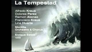 "Ruperto Chapí: La Tempestad, ""Cuarteto Final"""