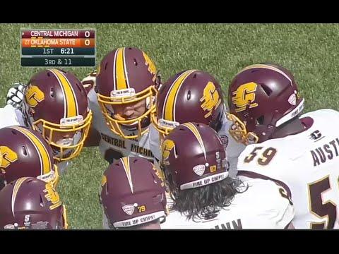 Central Michigan vs Oklahoma State football 2016