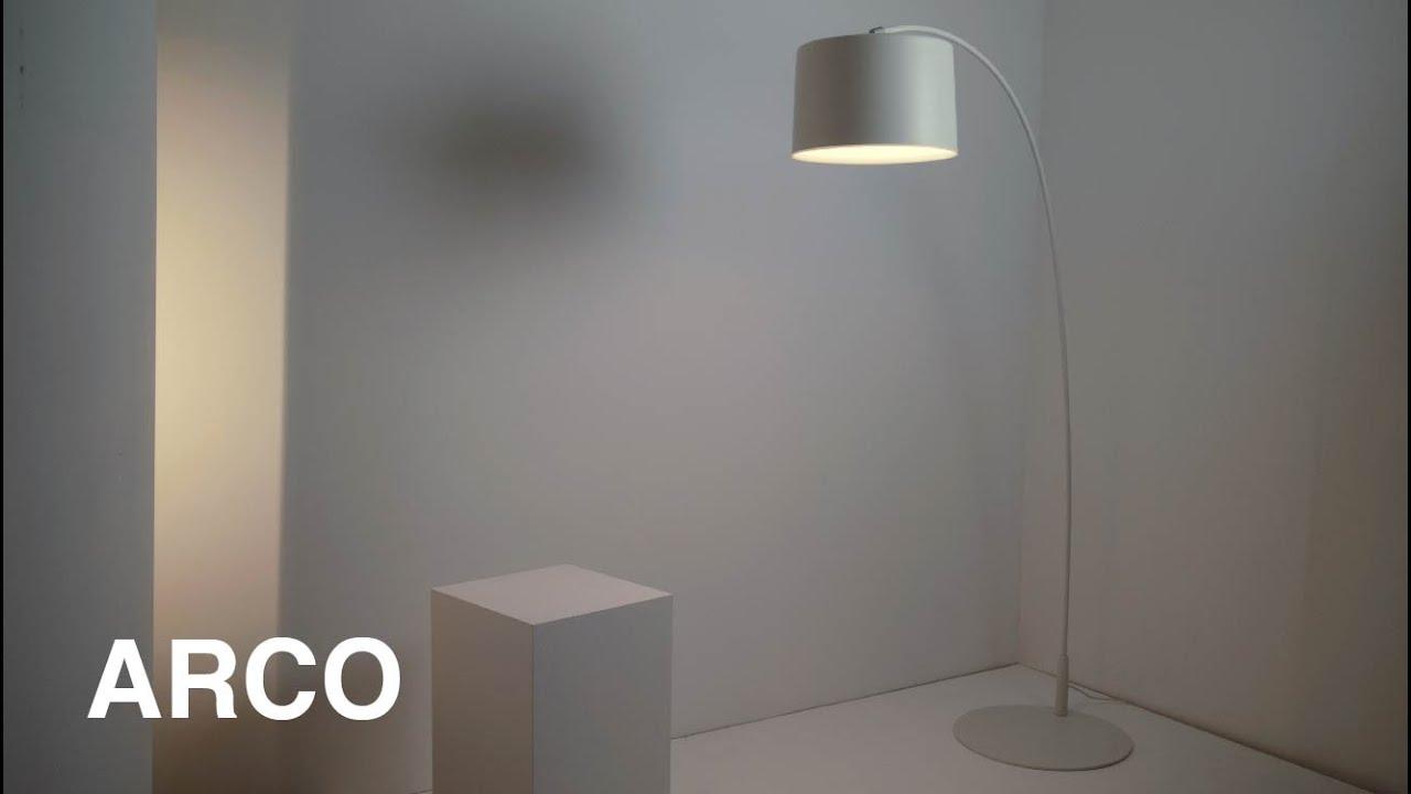 Lámpara de pie Arco by iMdi iluminación.