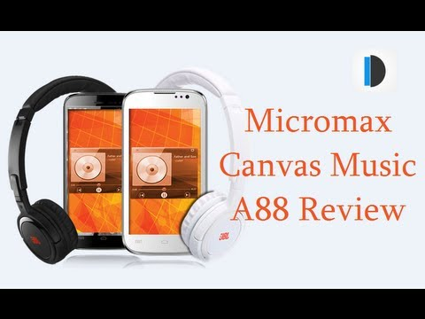 Micromax Canvas Music A88 Review With Gaming